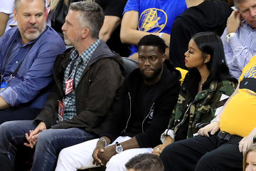 Kevin Hart 2017 NBA Finals - Game One