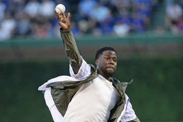 Kevin Hart Milwaukee Brewers vs. Chicago Cubs