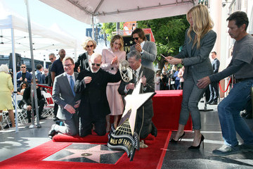 Kevin James Ryan Murphy Honored With Star On The Hollywood Walk Of Fame