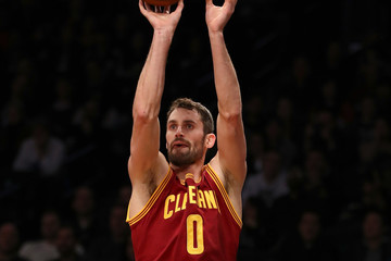 Kevin Love Cleveland Cavaliers v Brooklyn Nets