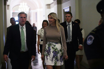 Kevin McCarthy Ivanka Trump Meets With GOP Lawmakers on Capitol Hill