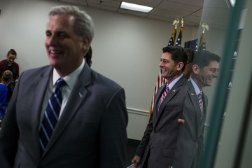 Kevin McCarthy House GOP Leadership Address the Media After Their Weekly Party Conference