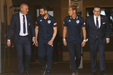 Kevin Muscat Keisuke Honda Melbourne Victory Media Opportunity
