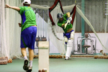 Daryn Smit Kevin Pietersen - Nashua Dolphins Training Session
