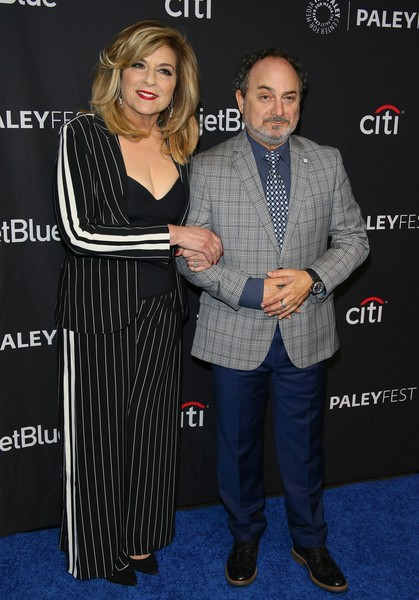 The Paley Center For Media's 2019 PaleyFest LA - Opening Night Presentation: Amazon Prime Video's 'The Marvelous Mrs. Maisel' [the marvelous mrs. maisel,premiere,suit,event,carpet,flooring,award,caroline aaron,kevin pollak,la,california,paleyfest,amazon prime video,paley center for media,opening night presentation]