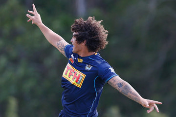 Kevin Proctor Gold Coast Titans Training Session