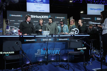 Kevin Richardson SiriusXM At Super Bowl LIII