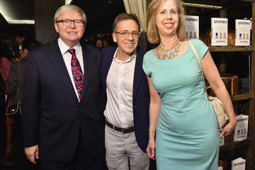 Kevin Rudd Book Party For Ian Bremmer's 'Superpower: Three Choices For America's Role in the World'