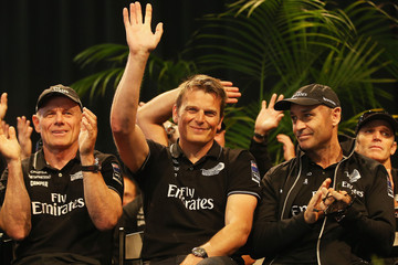Kevin Shoebridge Team NZ Welcomed Home After America's Cup