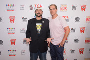 Kevin Smith And Jason Mewes Honored With TCL Chinese Theatre Handprint Ceremony At Theatre Box