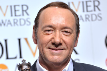 Kevin Spacey The Olivier Awards - Winners Room