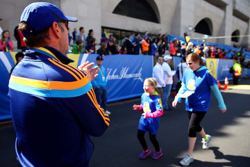 Kevin Spacey Boston Prepares for 2014 Marathon