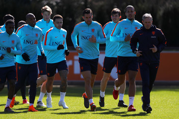 Kevin Strootman Netherlands Training Session