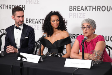 Kevin Systrom Joanne Chory 2018 Breakthrough Prize - Backstage