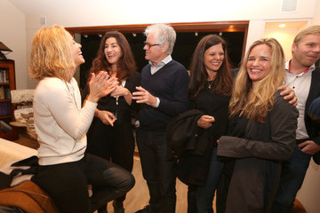 """Kevin Wall Screening For """"The Square"""" At The Home Of Maria Bello In Santa Monica"""