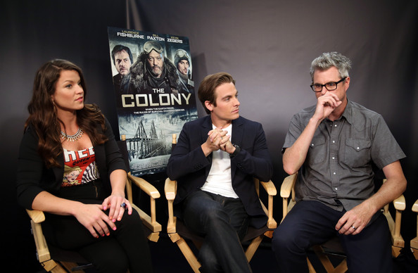 'The Colony' Screening at Comic-Con [the colony screening,the movies on demand lounge,social group,event,performance,fun,talent show,photography,musician,musical ensemble,stage,camille ford,jeff renfroe,kevin zegers,l-r,san diego,hard rock hotel,california,comic-con]