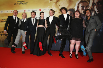 Kevin Zegers Jamie Campbell Bower 'The Mortal Instruments: City of Bones' Premieres in Germany