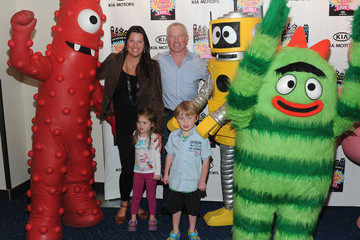 Neal McDonough Ruve Robertson Kia Presents Yo Gabba Gabba! Live! There's A Party In My City! At NOKIA L.A. LIVE  - Backstage - Day 2