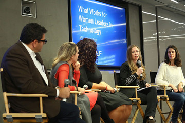 Kiah Williams What Works for Women Leaders in Technology, Hosted by SELF Magazine and The Clinton Foundation
