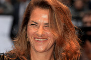 Artist Tracy Emin arrives at the 'Kid' Premiere at the Odeon Leicester Square on September 15, 2010 in London, England.