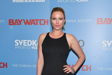 "Kiera Chaplin The Cinema Society Hosts a Screening of ""Baywatch"""