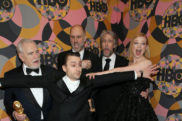 Kieran Culkin Brian Cox HBO's Official Golden Globes After Party - Red Carpet