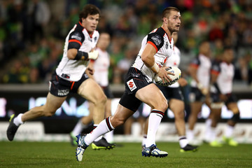 Kieran Foran NRL Rd 7 - Raiders v Warriors