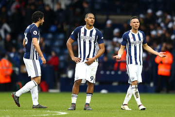 Kieran Gibbs West Bromwich Albion v Leicester City - Premier League