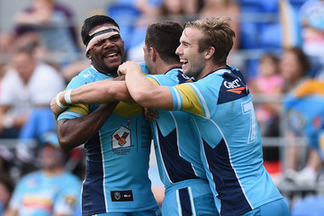 Kierran Moseley NRL Rd 7 - Titans v Panthers