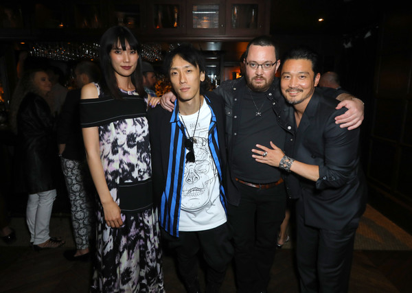 Premiere Of Breaking Glass Pictures' 'She's Just A Shadow' - After Party [shes just a shadow,breaking glass pictures,event,fashion,youth,fun,night,party,formal wear,performance,crowd,adam sherman,actors,kihiro,l-r,party,premiere,premiere,party]