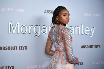 Kiki Layne Morgan Stanley Presents Alfre Woodard's 11th Annual Sistahs' Soirée With Absolut Elyx