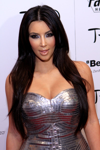 Lovely Kim Kardashian Hair more
