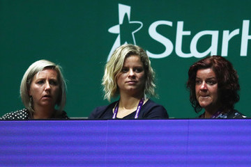 Kim Clijsters BNP Paribas WTA Finals Singapore Presented by SC Global - Day 5
