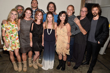 Kim Coates Mark Boone Junior 'Sons of Anarchy' Cast Hosts a Boot Bash