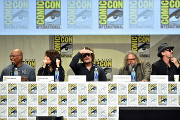 Kim Coates Mark Boone Junior 'Sons of Anarchy' Panel at Comic-Con