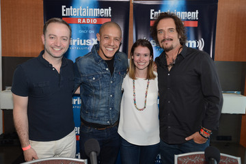 Kim Coates Theo Rossi SiriusXM's Entertainment Weekly Radio Channel Broadcasts From Comic-Con 2014