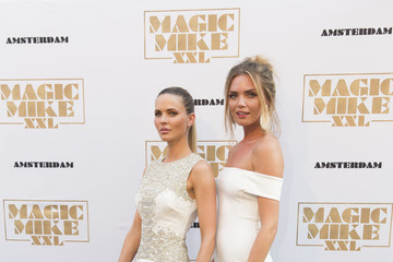 Kim Feenstra Celebrities Attend the 'Magic Mike XXL' Amsterdam Premiere