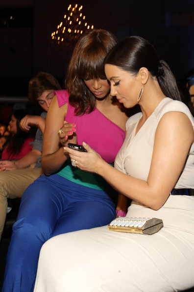 Kim Kardashian TV Persoanlities Tyra Banks and Kim Kardashian attend the 2011 VH1 Do Something Awards at the Hollywood Palladium on August 14, 2011 in Hollywood, California.