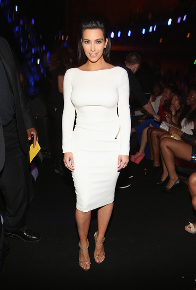 Kim Kardashian - 2012 BET Awards - Roaming Inside And Backstage