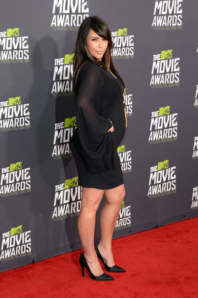 Kim Kardashian - 2013 MTV Movie Awards - Arrivals