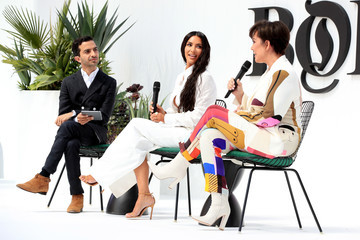 Kim Kardashian Kris Jenner The Business of Fashion Presents the Inaugural BoF West Summit in Los Angeles