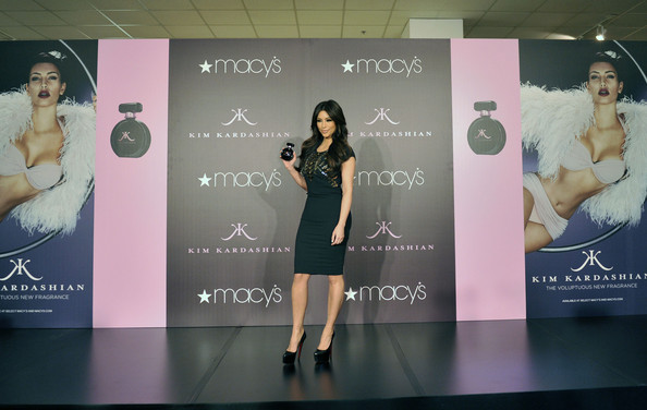 Kim Kardashian Launches Her Fragrance