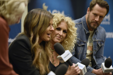 Kimberly Schlapman SiriusXM's The Highway Channel Broadcasts Backstage Leading Up To The ACMs