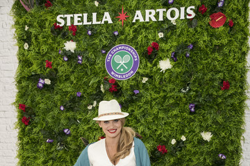 Kimberly Wyatt A Day At The Championships With Official Beer Of The Tournament - Stella Artois