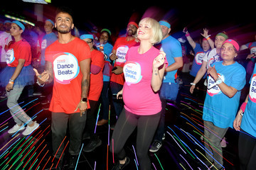 Kimberly Wyatt World Record Dance Marathon Relay Attempt For The Launch Of New Tesco Fundraiser