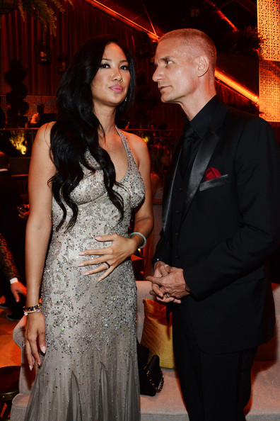 Kimora Lee Simmons with husband Tim Leissner