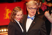 """Wim Wenders and Donata Wenders . attend the """"The Kindness Of Strangers"""" premiere during the 69th Berlinale International Film Festival Berlin at Berlinale Palace on February 07, 2019 in Berlin, Germany."""