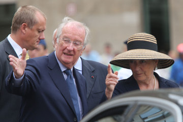 King Albert II Belgium Royal Family Attends A Mass For The 20th Anniversary Of King Baudouin's death