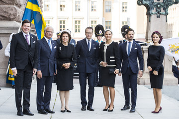 King Carl Gustaf XVI  Swedish Royals Attend The Opening Of The Parliamentary Session