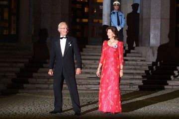 King Carl Gustaf XVI  Swedish Riksdag's Jubilee Concert To Celebrate King Carl Gustaf's 40th Jubilee